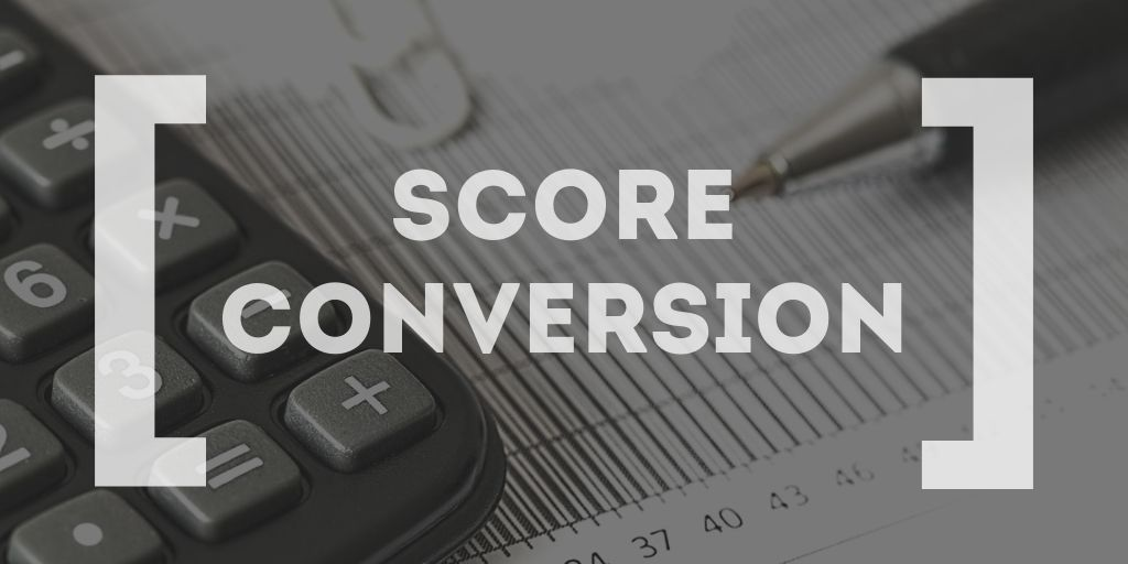 GMAt vs GRE - conversion